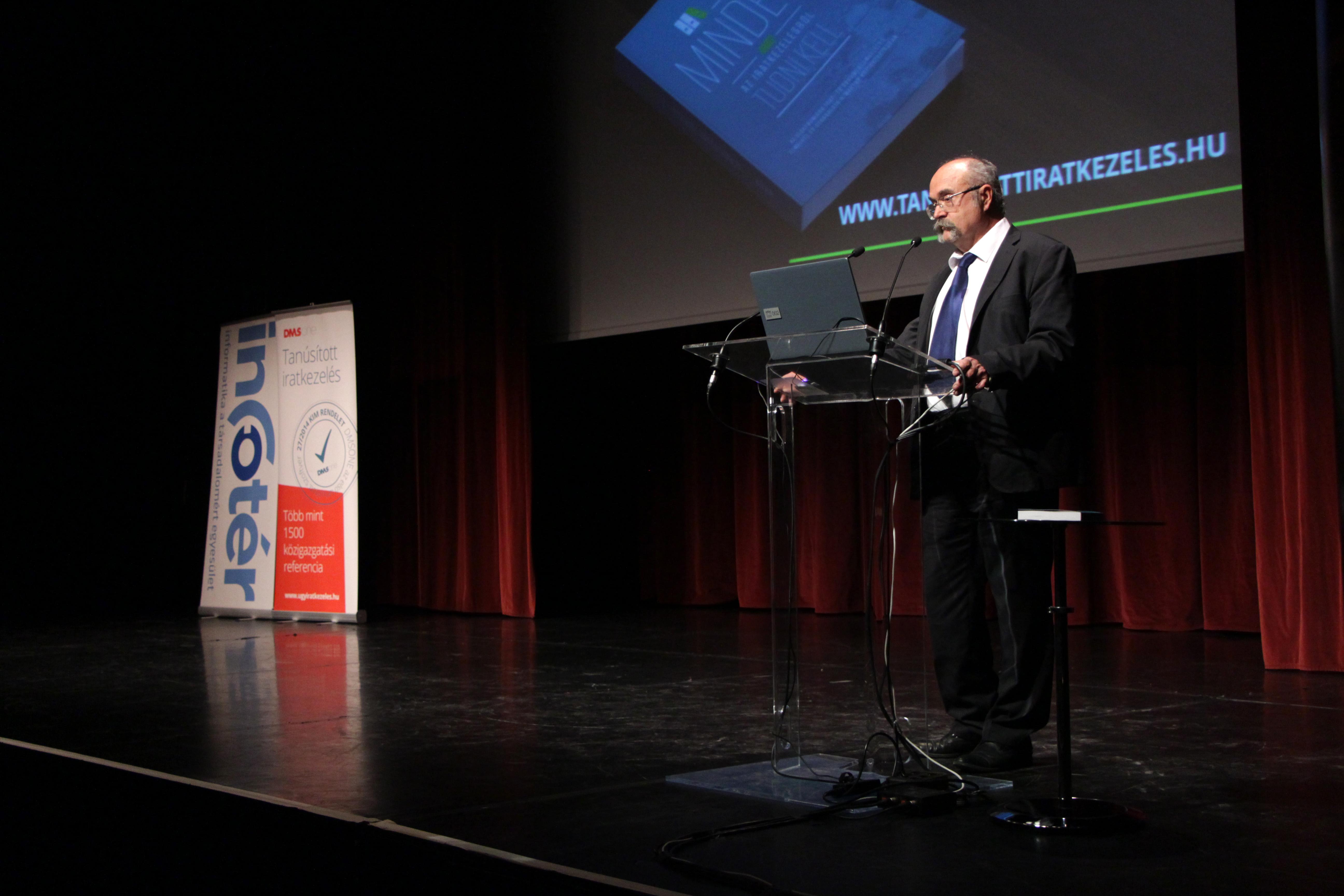 e-Közigazgatás Konferencia - Hajzer Károly