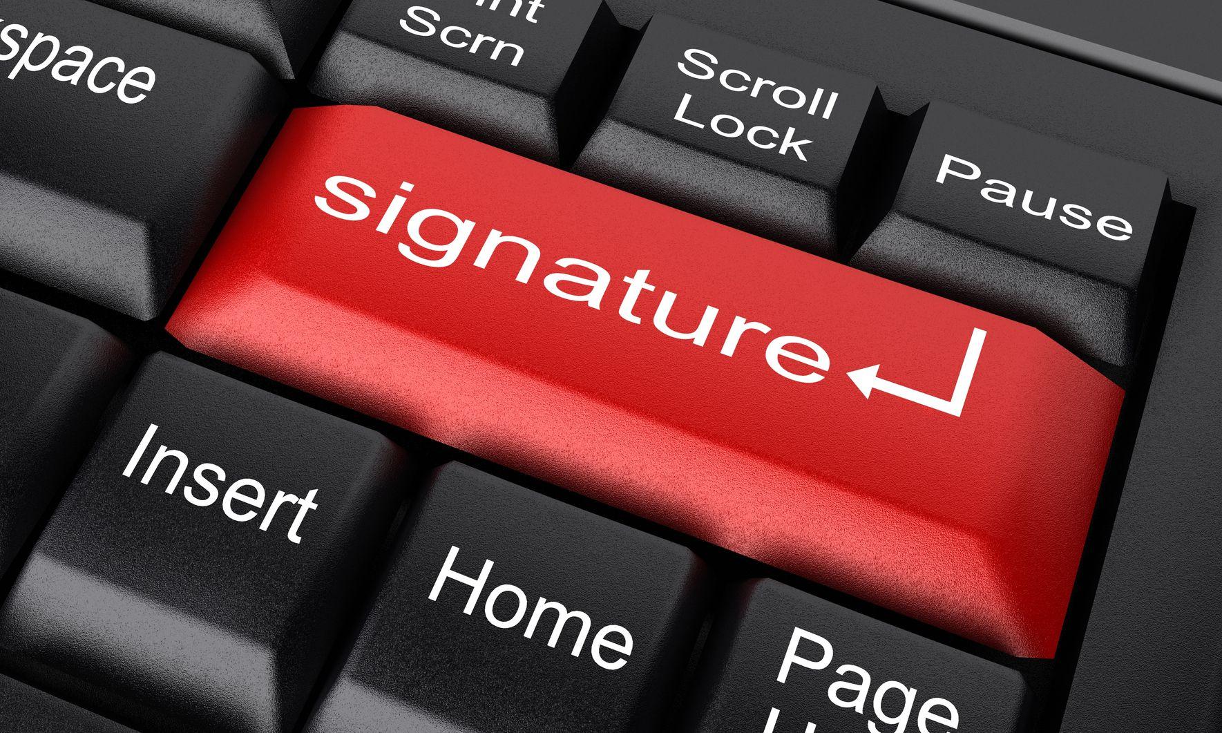 Elektronikus aláírás a közigazgatásban